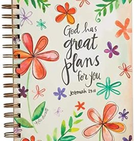 God has Great Plans for You Wired Journal