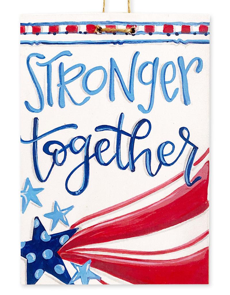 Stronger Together USA Sign