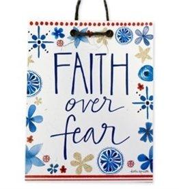 Faith over Fear Handmade Sign