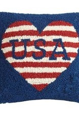 USA Love Hook Pillow