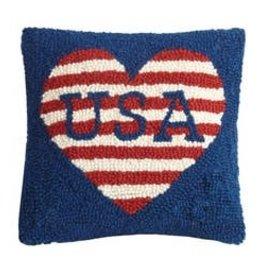 USA Love Hook Pillow