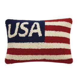 Usa Flag Hook Pillow
