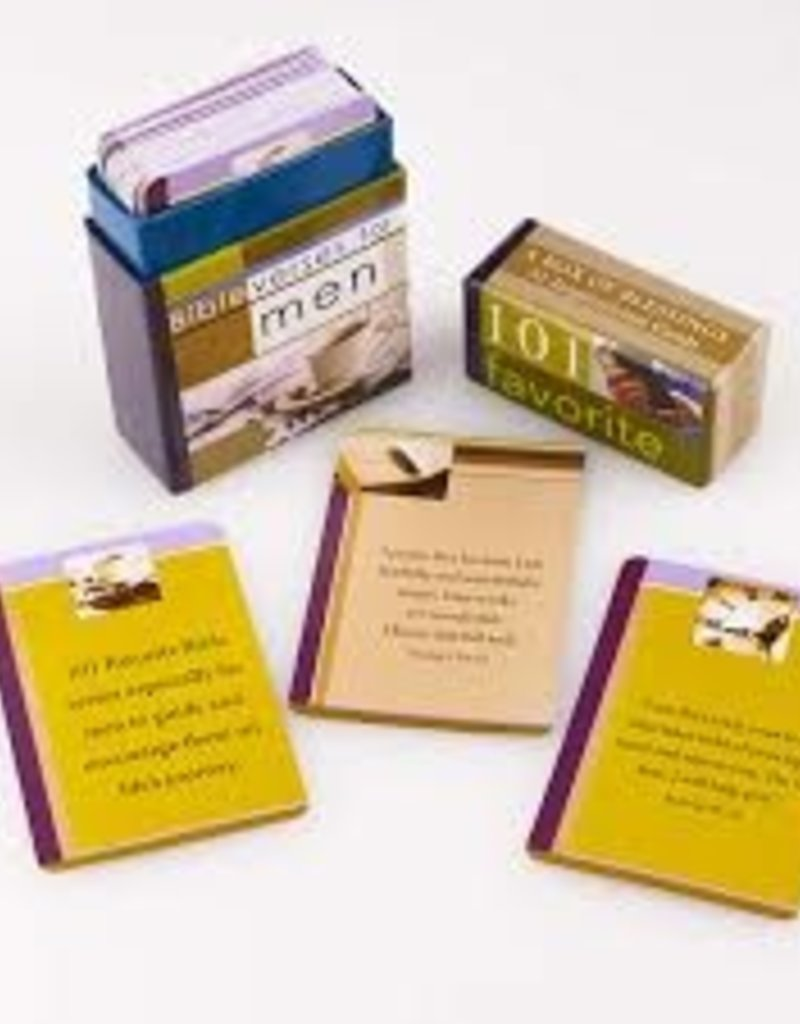 Box Of Blessings-101 Favorite Bible Verses/Men