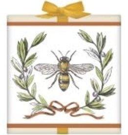 Tea Box- Bee Olive Wreath