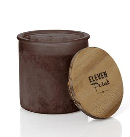 River Rock Candle- Dark Brown ( Arrow Scent)