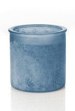 River Rock Candle- Blue ( Wildflower Scent)