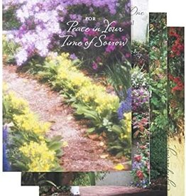 Boxed Cards- Sympathy-Peaceful Paths (Box Of 12)