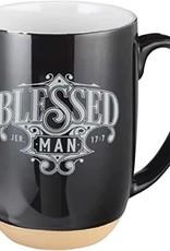 Mug Ceramic Blessed Man