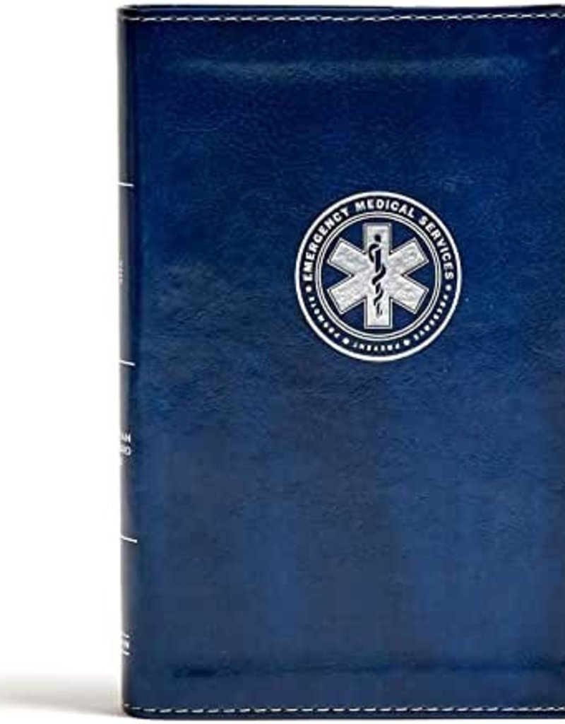 CSB Heroes Bible (EMS) Navy LeatherTouch