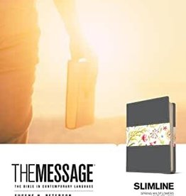 The Message Slimline Leather-Look, Spring Wildflowers