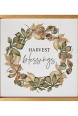 Harvest Blessings Artwork - 21x21