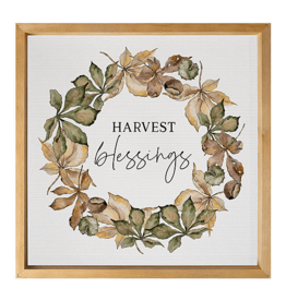 Harvest Blessings Artwork - 21x21