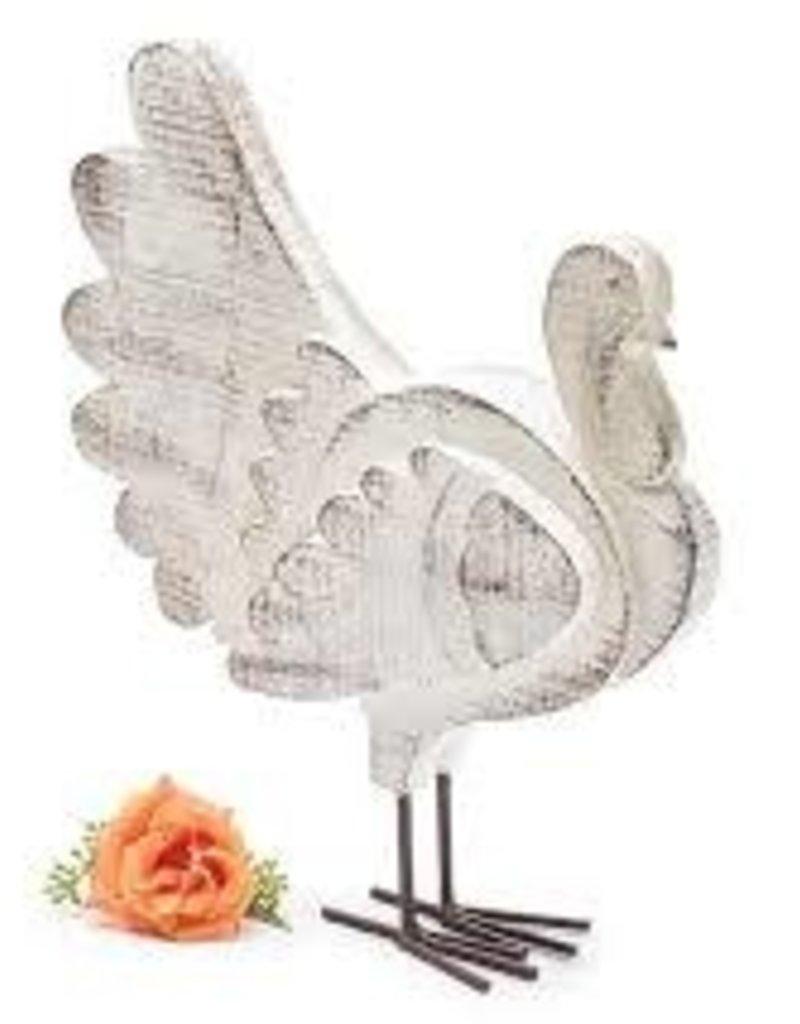 White Distressed Turkey
