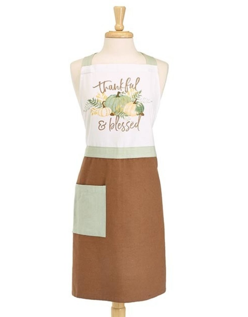 Apron Thankful & Blessed