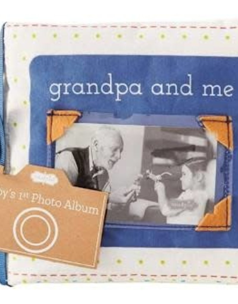 Grandpa and Me Fabric Book