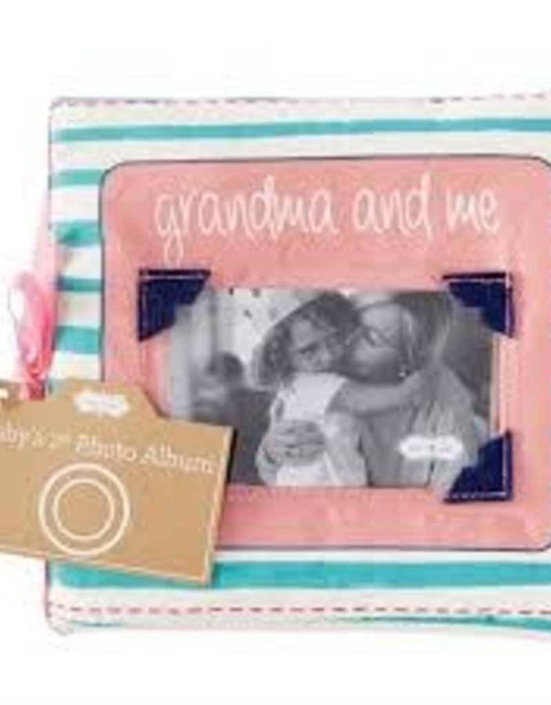 Grandma and Me Fabric Book