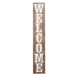 Welcome Sign- Brown