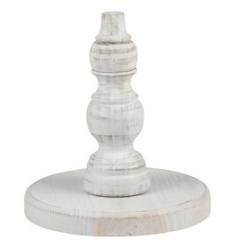 White Wood Base for Toppers