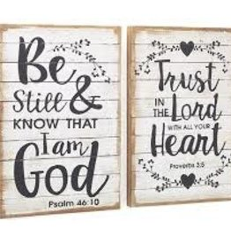 WALL HANGING -TRUST IN THE LORD