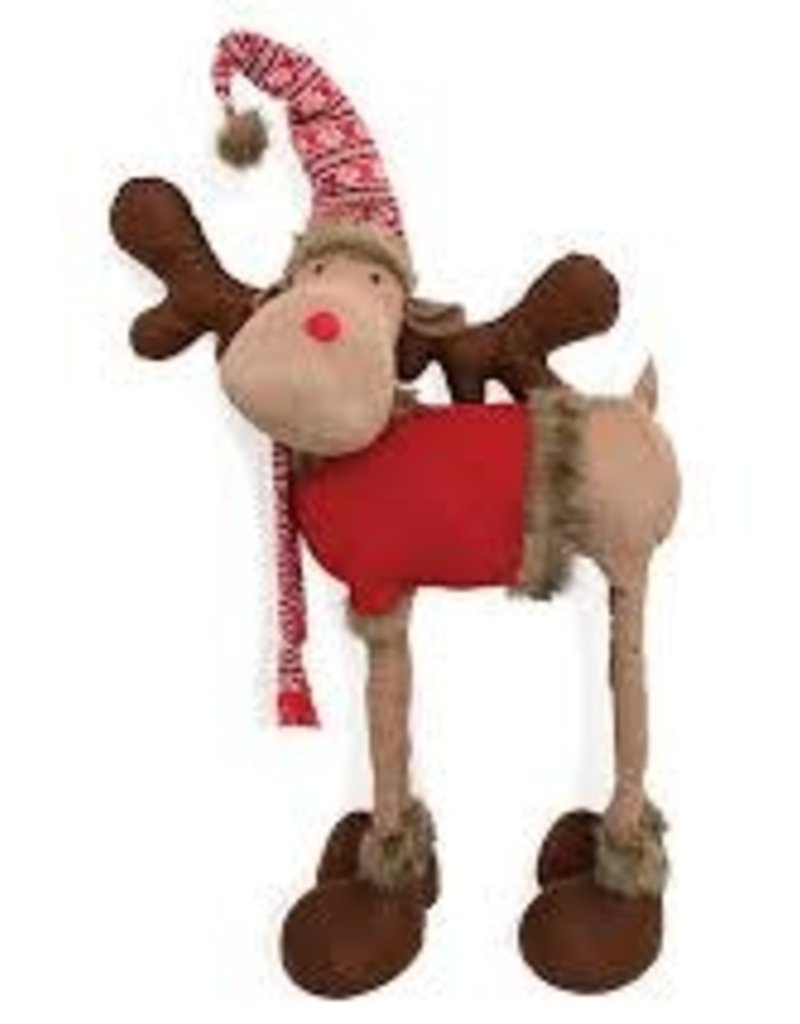 Large Standing Moose w/ Sweater