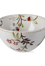 Autumn Bloom Serving Bowl