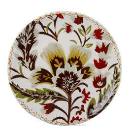 Autumn Bloom Appetizer Plate