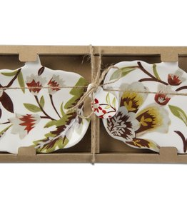 Autumn Harvest Pumpkin set of 2 plates