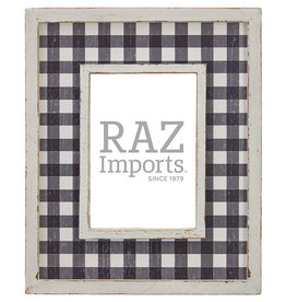 """12"""" Checked Picture Frame"""