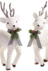 """20.5 """" White Deer"""