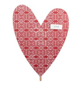 Love Red Heart Topper