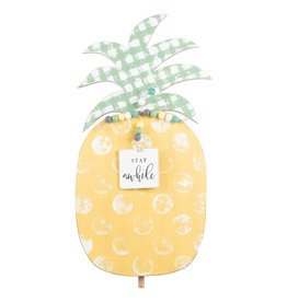 Stay Awhile Pineapple Topper