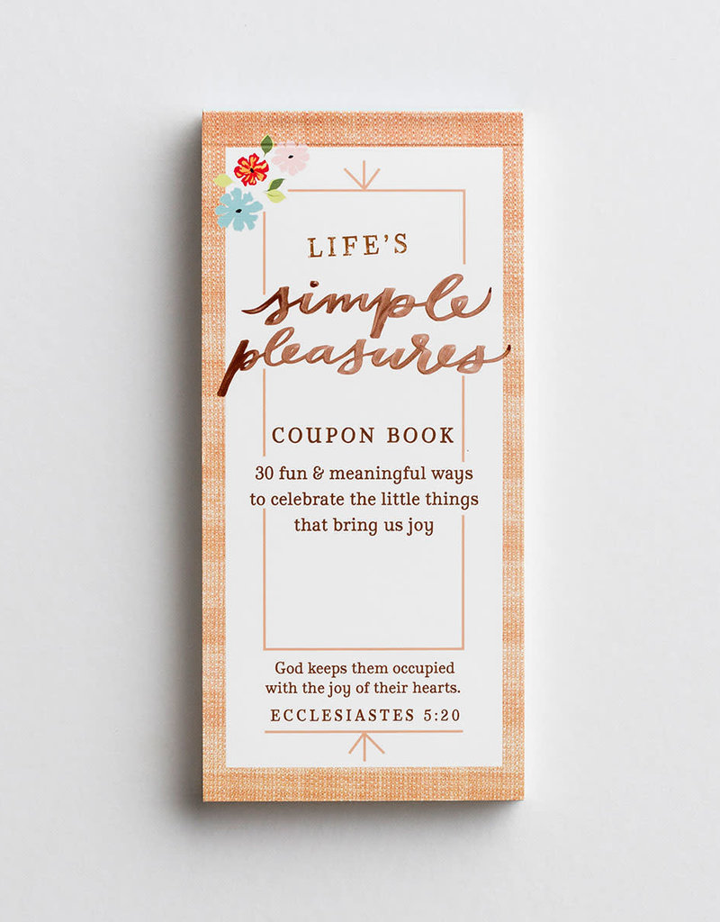 Coupon Book-Simple Pleasures/Back To Basics