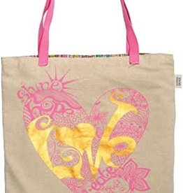 TOTE BAG LOVE HEART