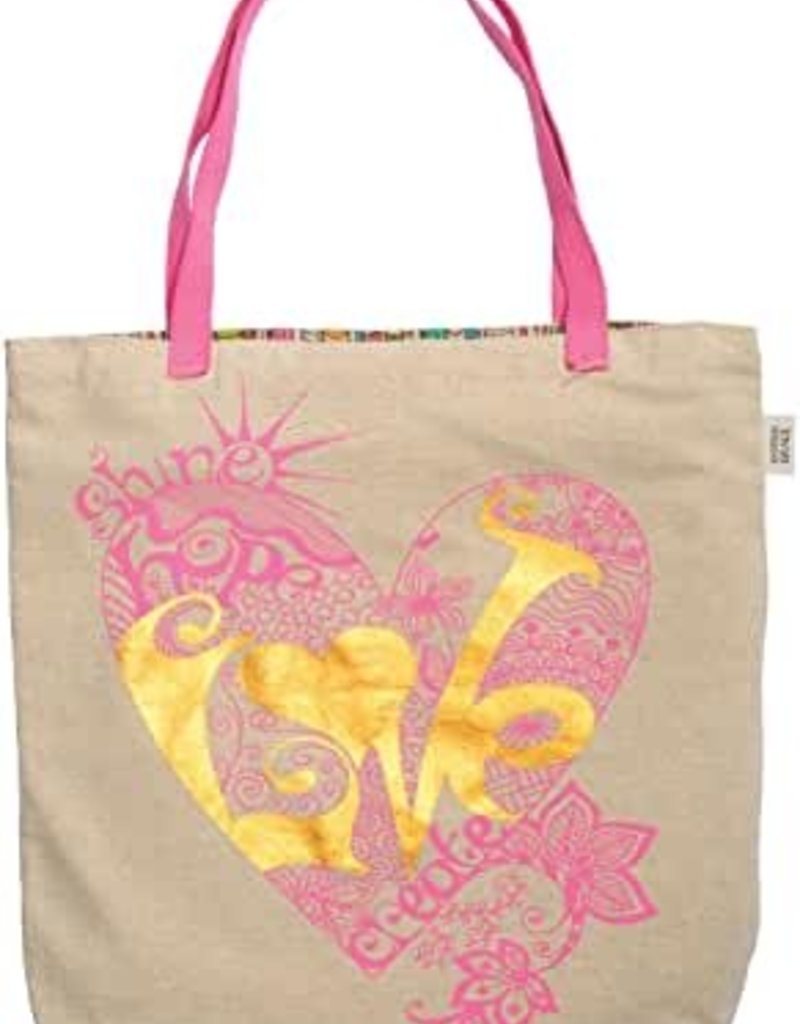 TOTE BAG LOVE HEART