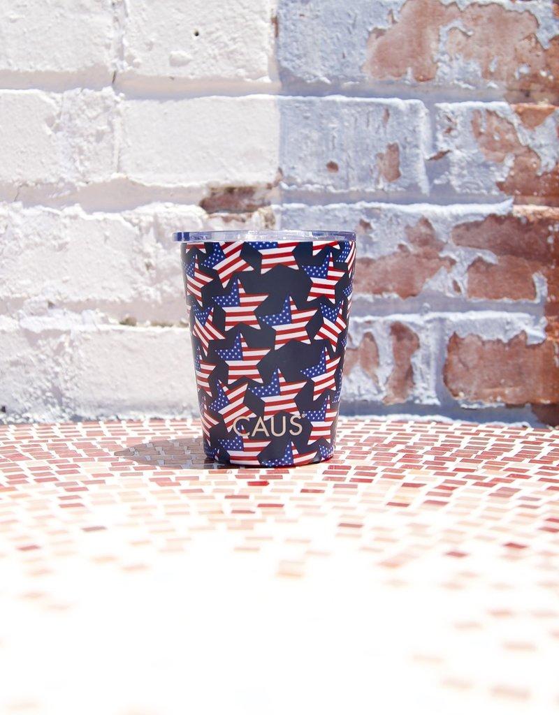 Caus SS Coffee Tumbler Stars & Stripes
