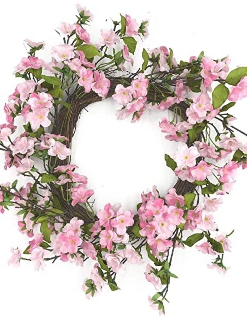 "Cherry Blossom Wreath 24"""