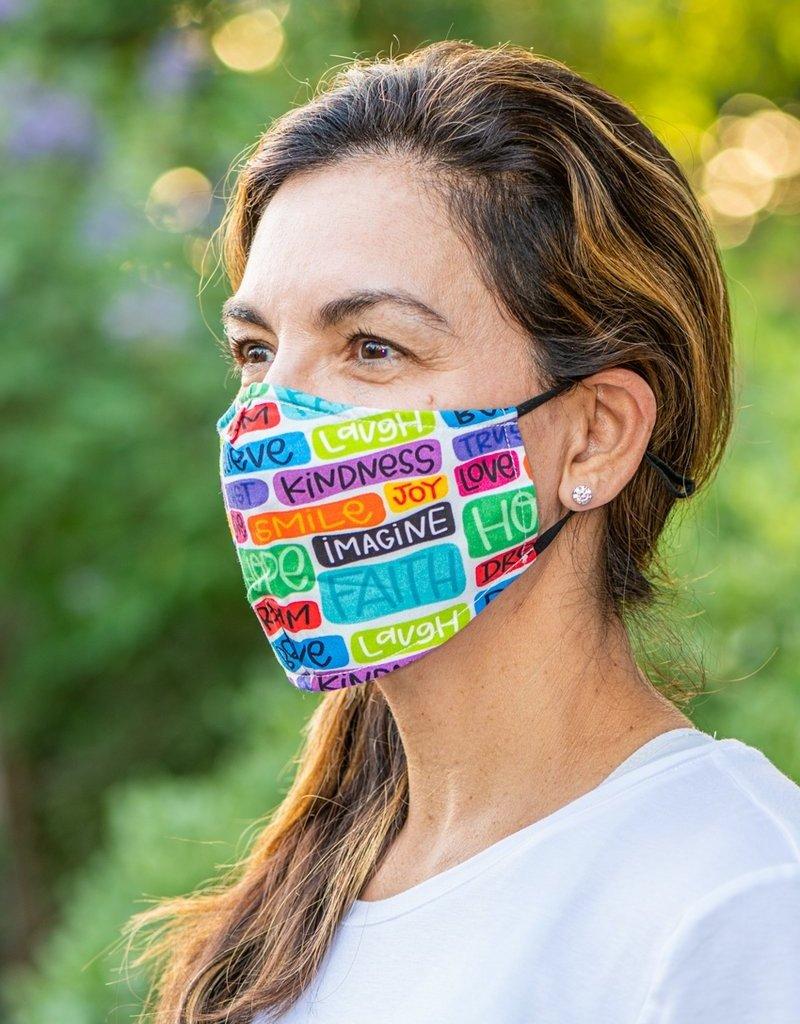 Face Mask- Faith, Hope & Love