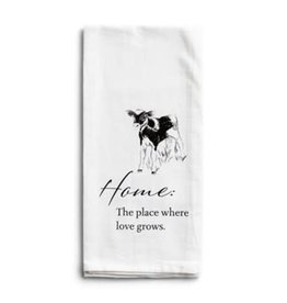 Home Calf Tea Towel