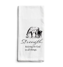 Strength Horse Tea Towel