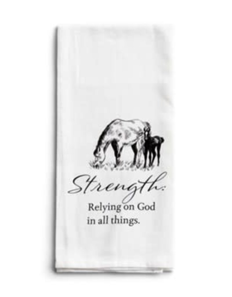 Strength Horse Tea Towel