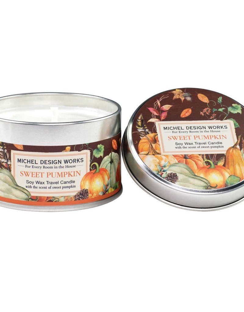 Sweet Pumpkin Travel Candle