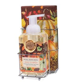 Sweet Pumpkin Foaming Hand Soap Napkin Set