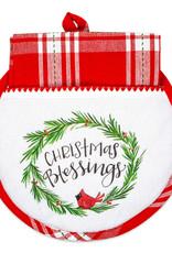 Christmas Blessings Hot Pad & Tea Towel Tea Set
