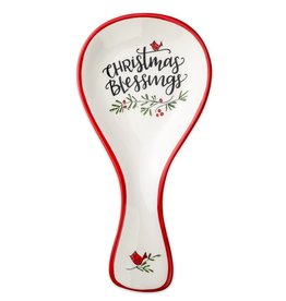 Christmas Blessings Spoon Rest