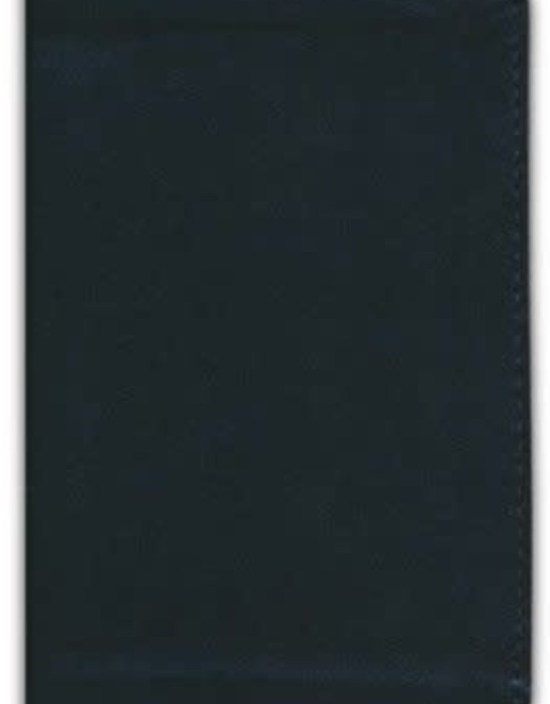 ESV Pocket Bible--soft leather-look, black