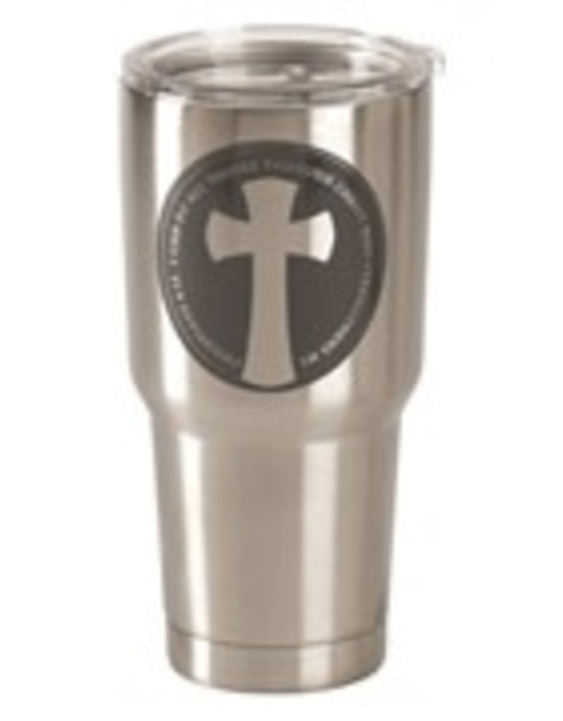 I Can Do All Things Phil. 4:13 Stainless Steel Tumbler