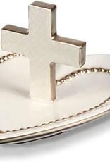Heart & Cross Ring Dish