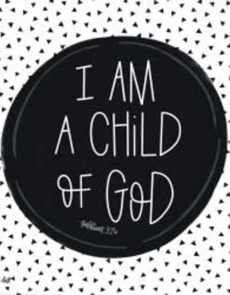 I am a Child of God 12x12 Wall Art