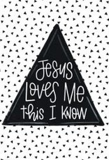 Jesus Loves Me 12x12 Wall Art