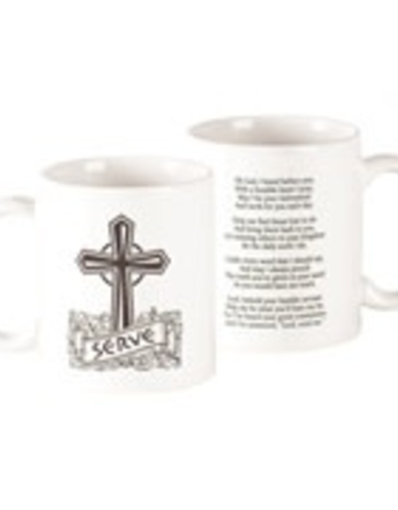 Mug Serve Cross 11 oz.